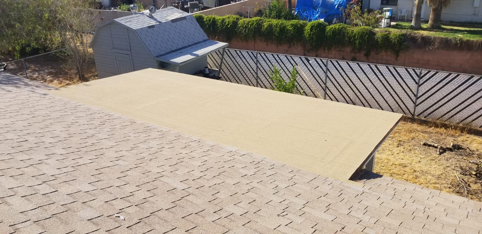 Asphalt Shingles Common roof Type