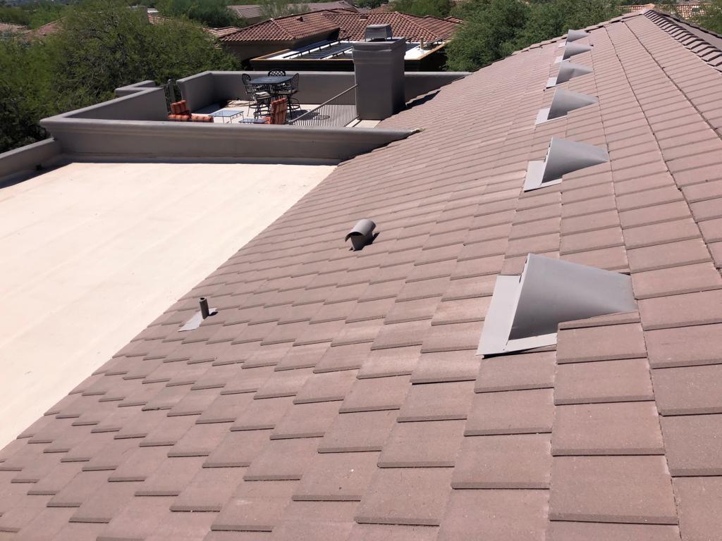Plana Flat Tiles Common Roof Type