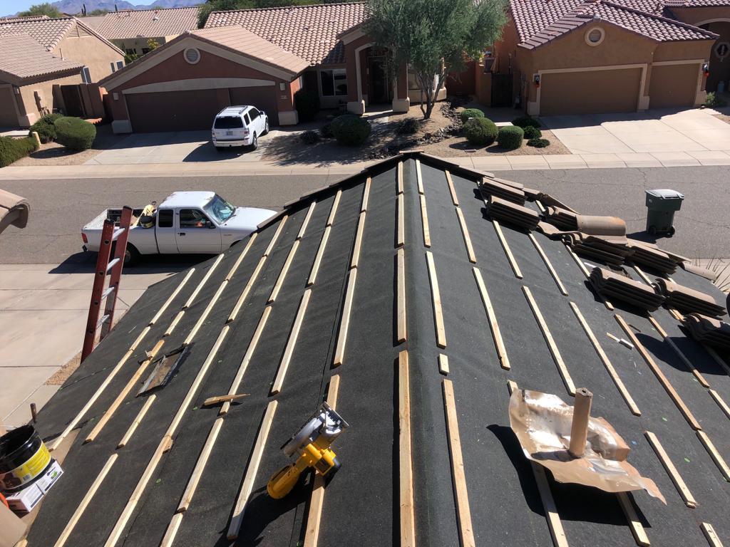 Roof Repair in Mesa
